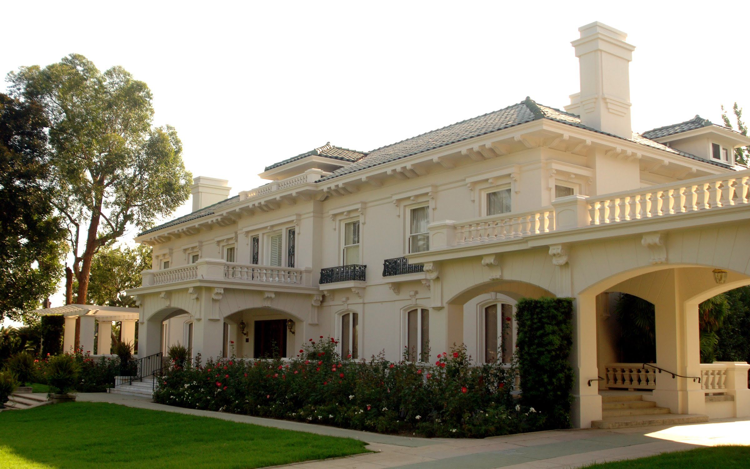 Tournament of Roses Virtual House Tour: the Wrigley Mansion in ...