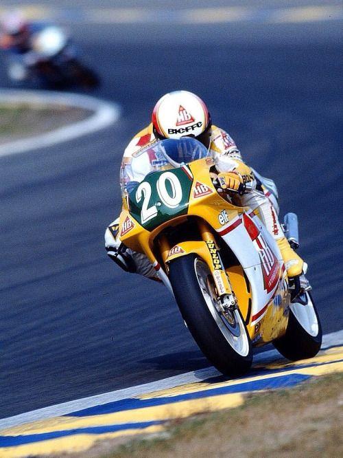 Doriano Romboni at Le Mans 1991, by Motorsport Magazin.