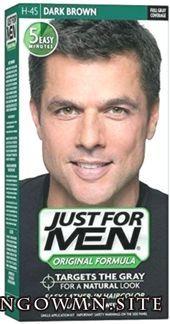Hit Nur für Männer Originalversion Formula Men Haarfarbe Dunkelbraun (Pack 12)…