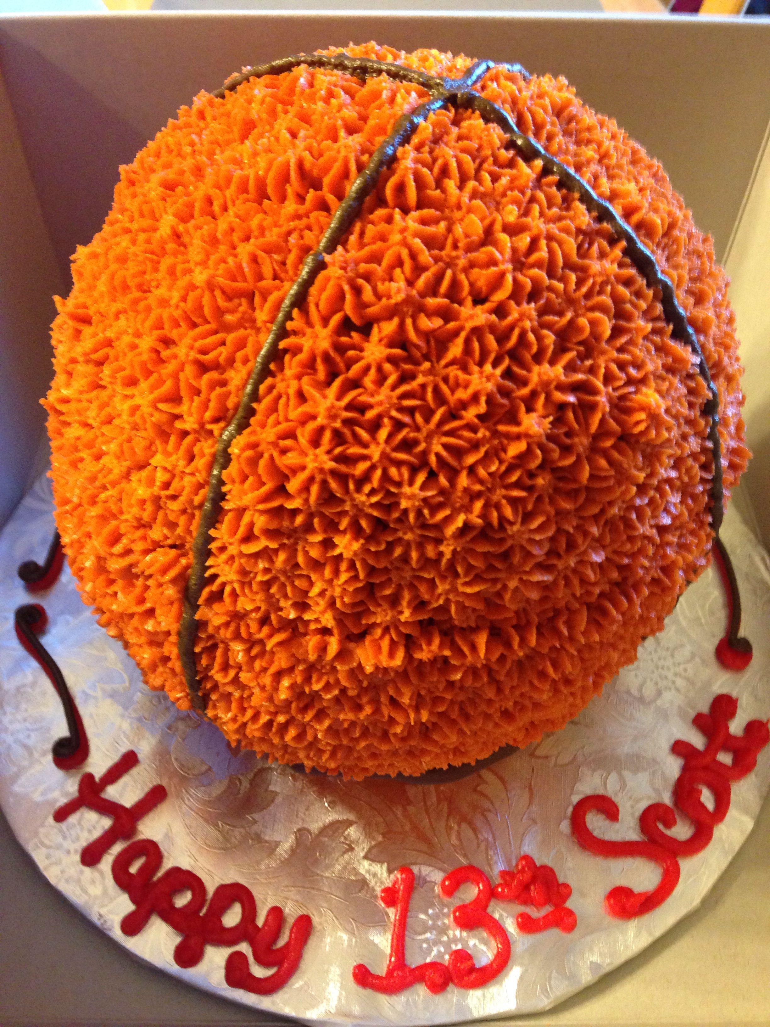 Wilton Basketball Cake