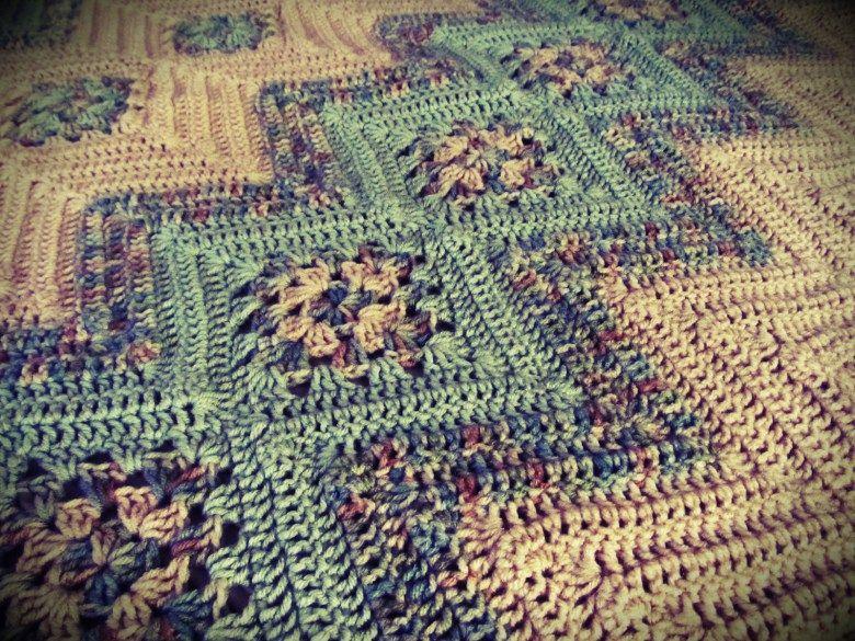 Asombroso Crochet Ondulación Patrón Afghan Motivo - Ideas de ...