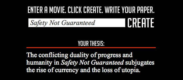 thesis title generator