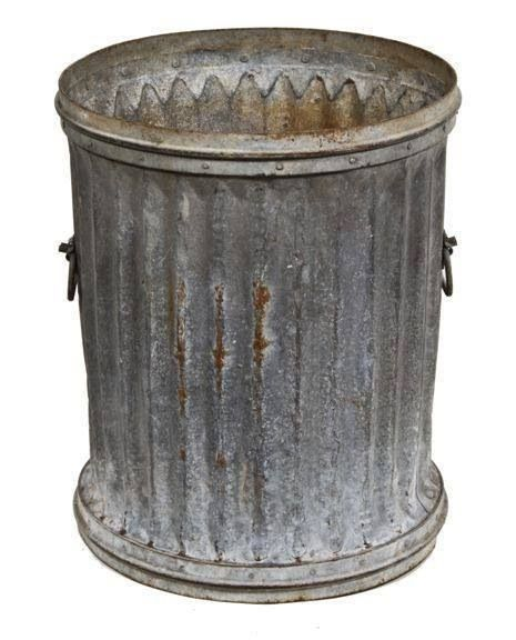 Trash Was Put In Tin Cans And Then Sat In An Alley In The Back Of Your House Trash People Picked It Up At The Back No Trash Cans Trash Can