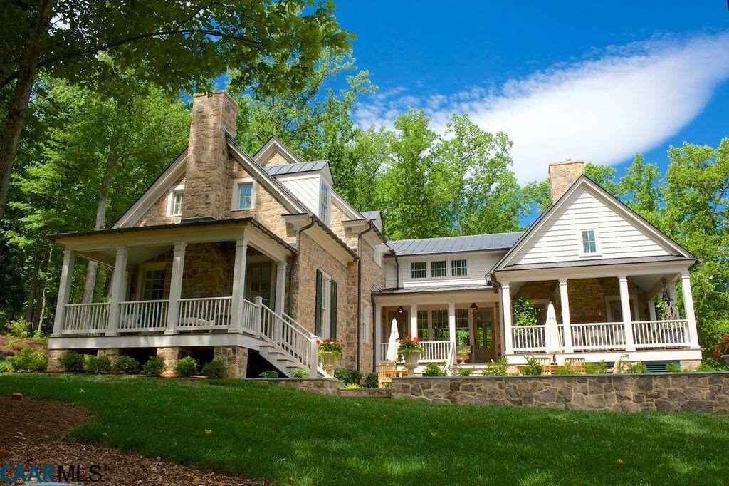 Earlysville Home For Sale Farmhouse Exterior House Exterior Southern Living Homes