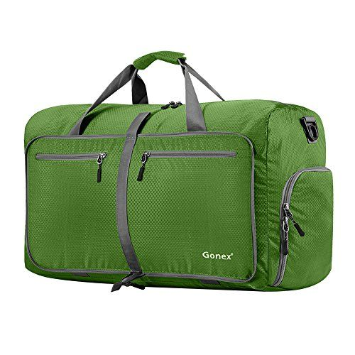 305f3d4e052b Deal! Gonex 60L Foldable Travel Duffel Bag for Luggage