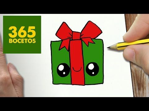 Como Dibujar Un Piruleta Para Navidad Paso A Paso Dibujos Kawaii