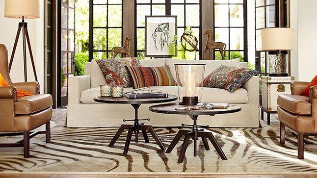 Top 10: tables à café | Les idées de ma maison © Photo: Pottery Barn #deco #table #basse #accessoire #salon