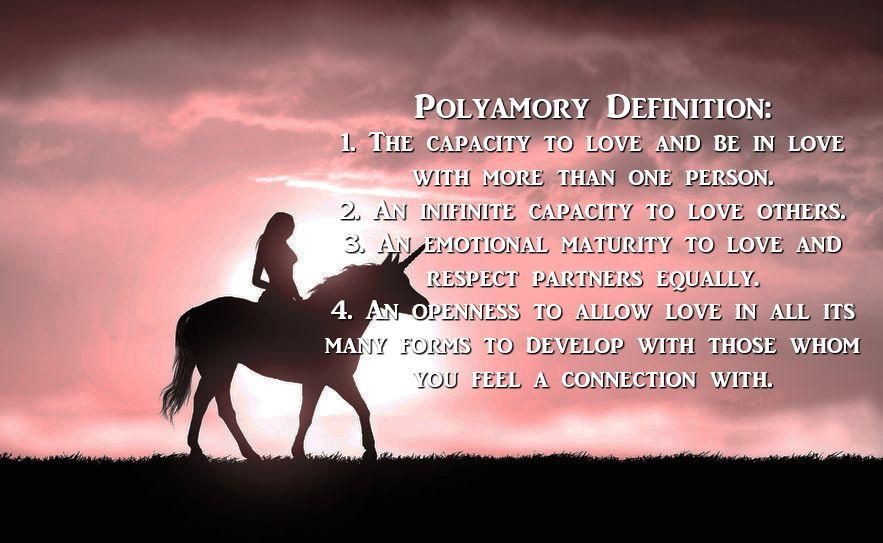 Polyamorous dating definition relationship