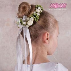 Wianek Komunijny Jak Zywy Na Koczka Wk60 First Communion Hairstyles Communion Hairstyles Hair Styles