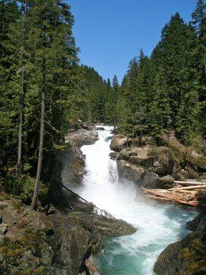 Silver Falls loop