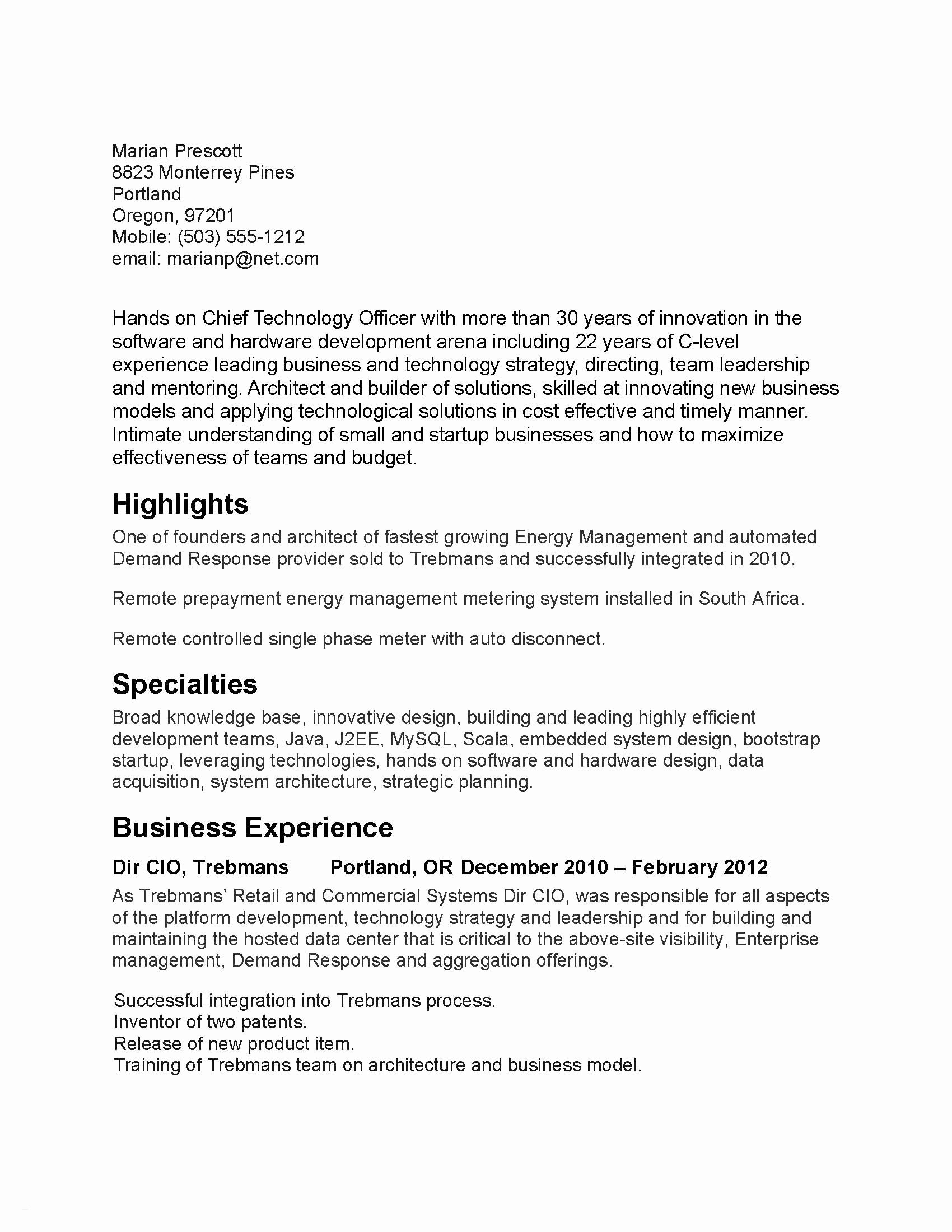 70 Elegant Collection Of Examples Of Leadership Experience Resume