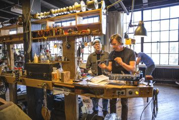 Tube Amp Building at Chicago School of Guitar Making #amps