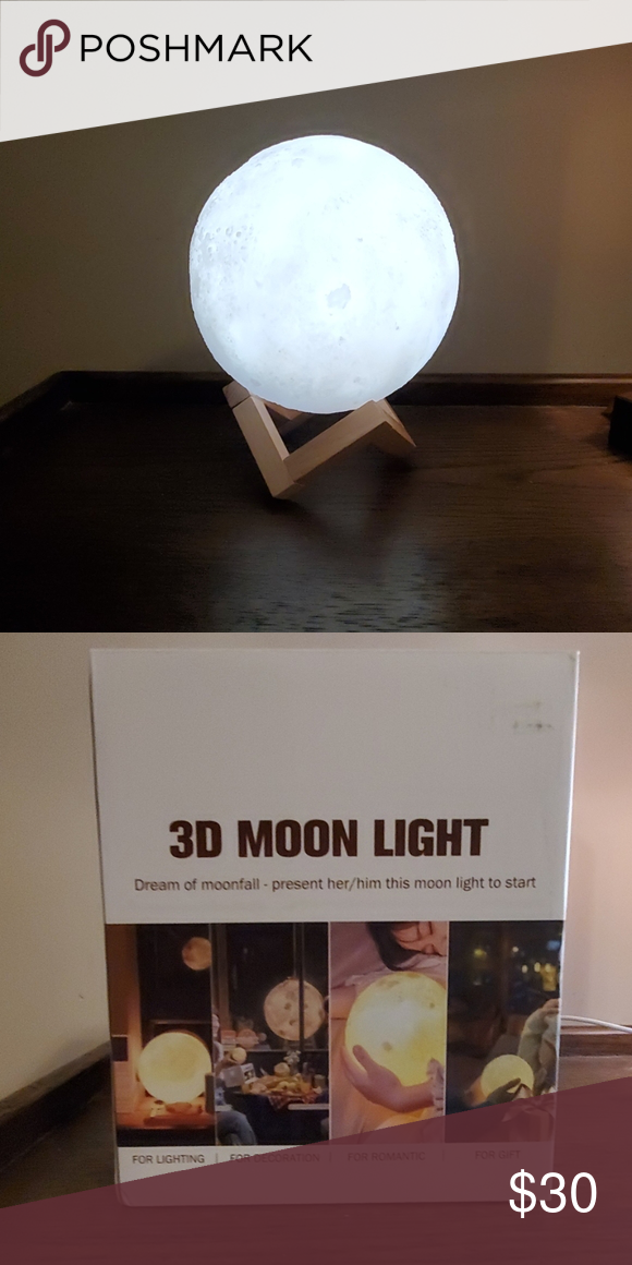 Moon Light Moon Light Lamp Moonlight Light