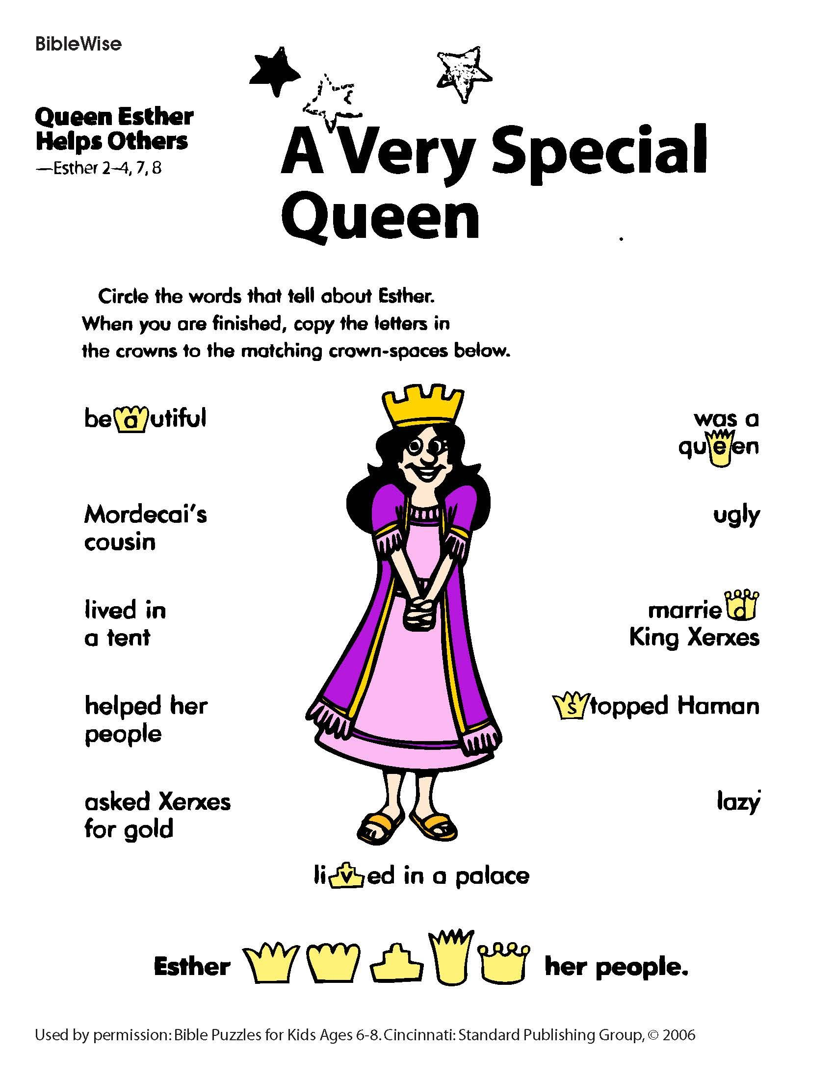 Esther | Kings Kids | Bible lessons for kids, Kids sunday