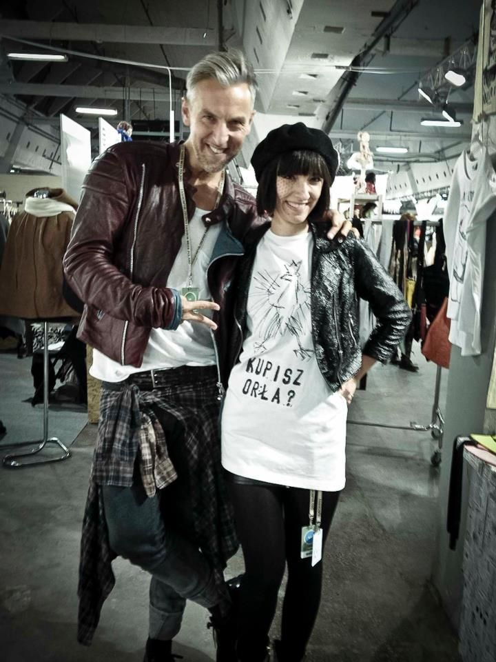 Kupisz Orła?    Robert Kupisz & She/s A Riot brand
