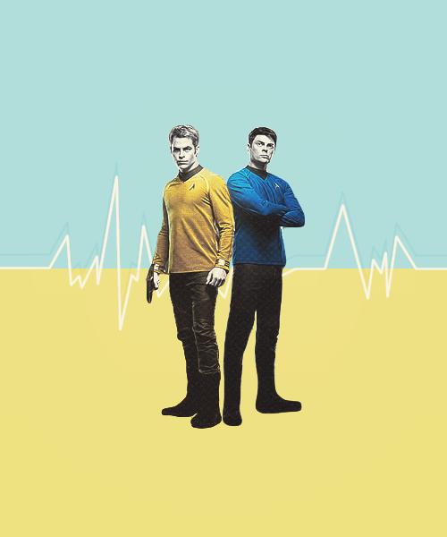 Kirk and Bones <3
