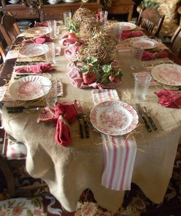 Photo of tavola-shabby-country-natale.png (589×702)