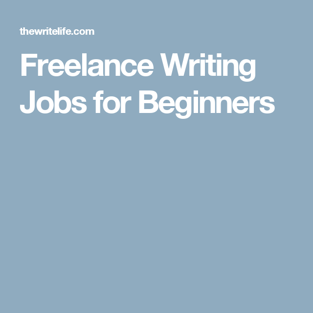 Freelance Writing Jobs for Beginners | Writing Ideas