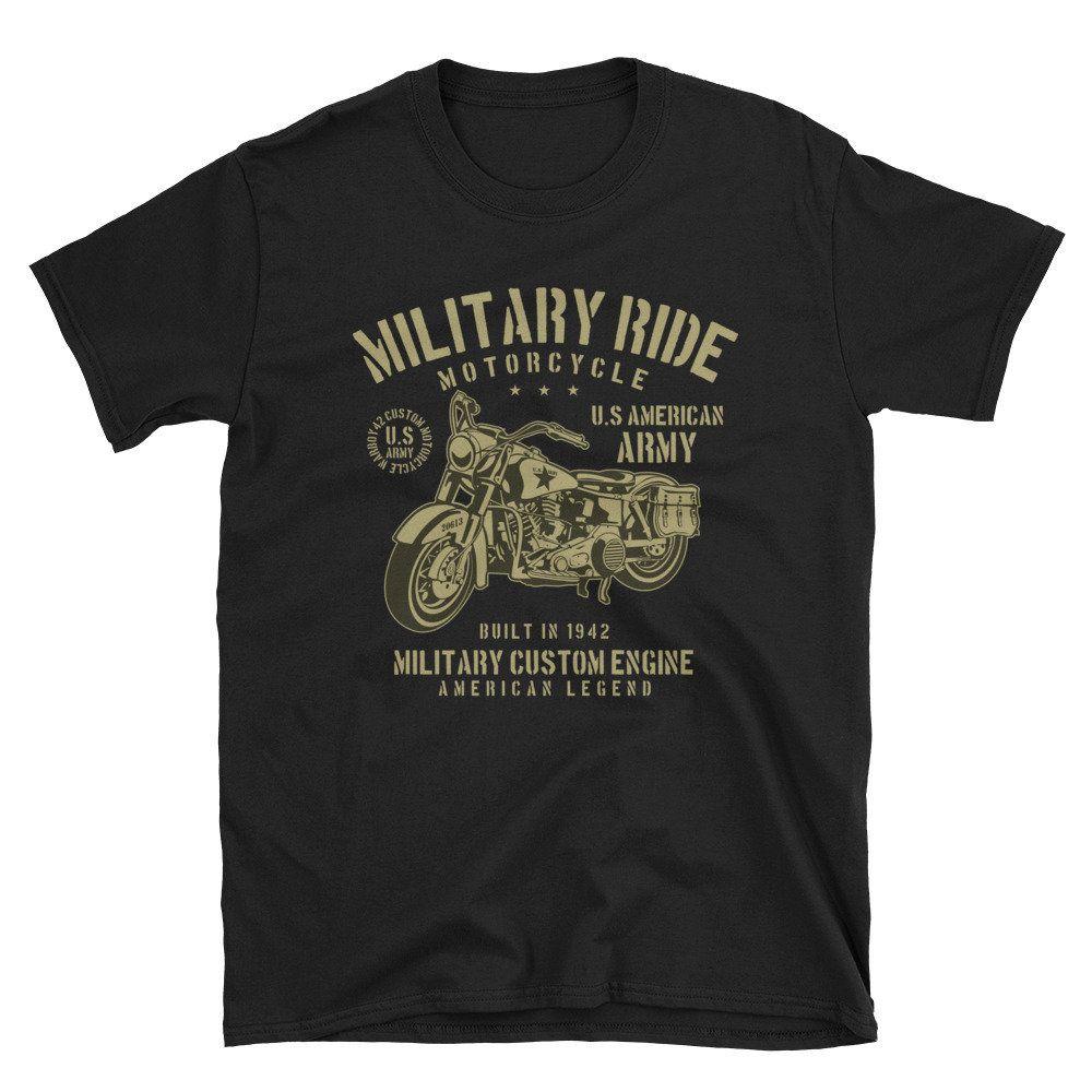 Army-Ride Short-Sleeve Unisex T-Shirt