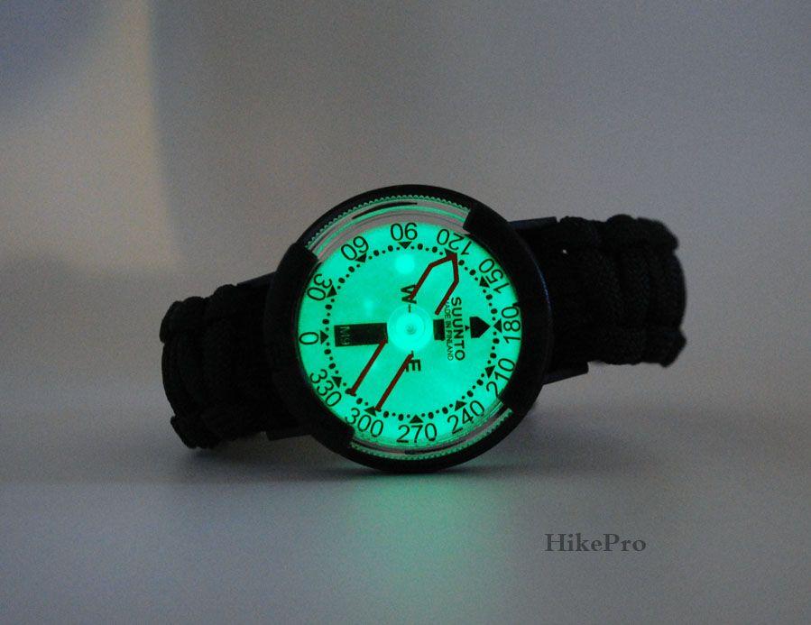 Suunto M9 Wrist Compass Sobrevivência, Armadilha