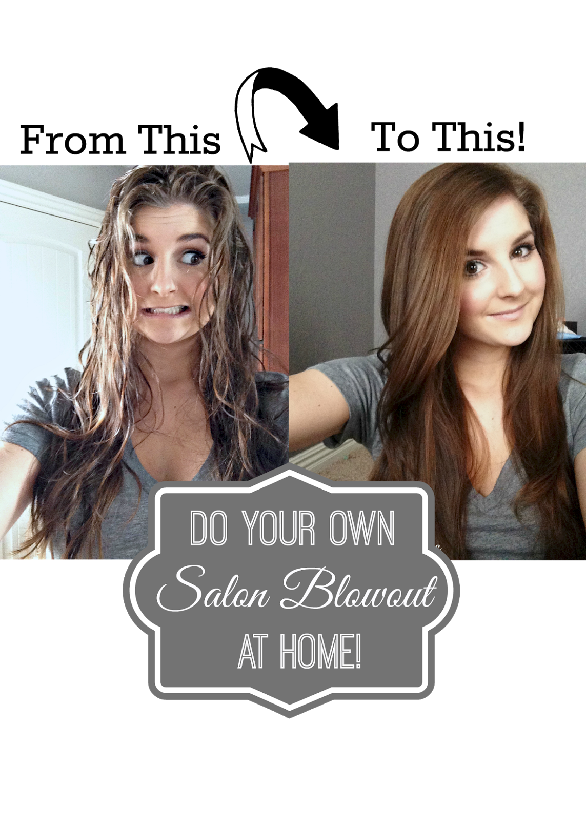 Absolutely Arkansas Diy Salon Blowout At Home Look For Less Challenge Hair Styles Long Hair Styles Salon Blowout
