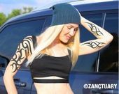 Photo of Dragon Temporary Tattoo Hülle für Herren Dragon Tattoo Tribal | Etsy, #Dragon …