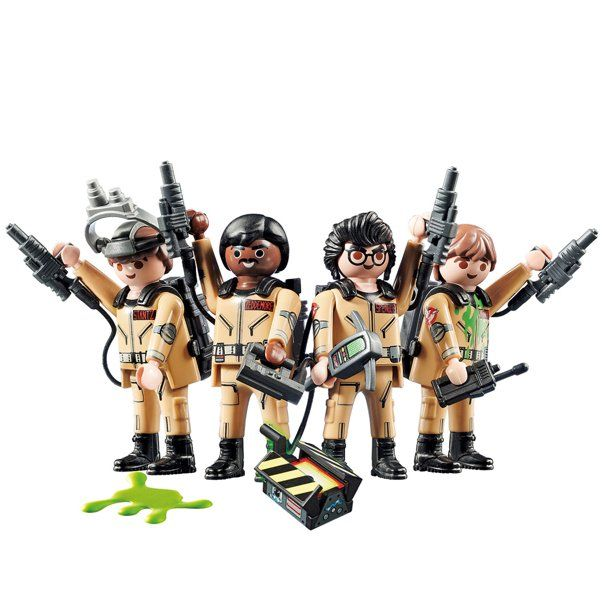 PLAYMOBIL Ghostbusters 4 Pack Figure Set