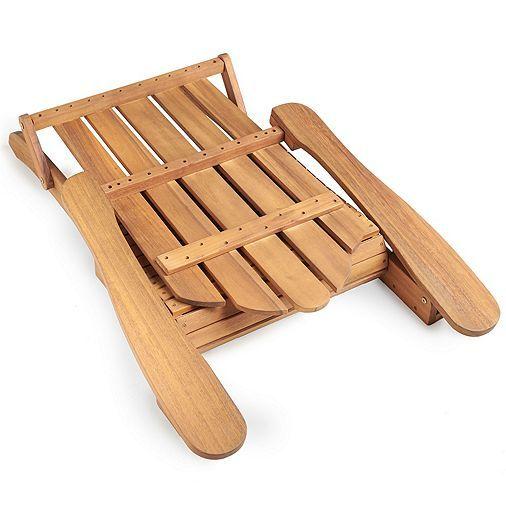 Tesco direct: VonHaus Folding Adirondack Chair ...