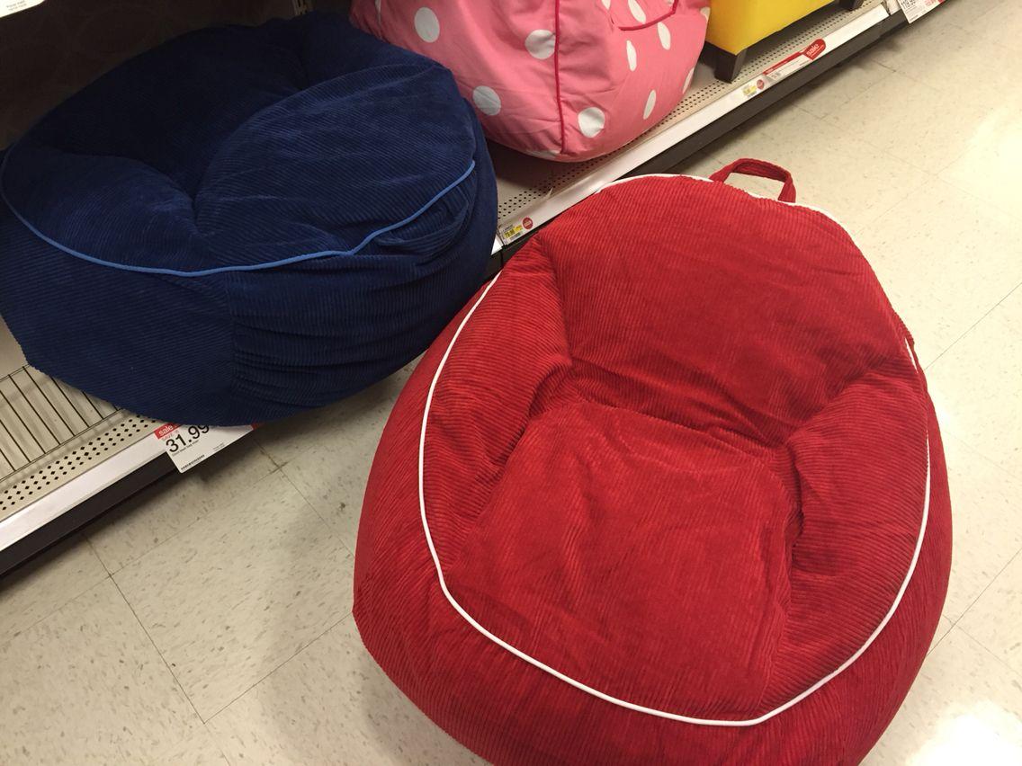 These Look Cute Comfy Circo Bean Bag Chair Target