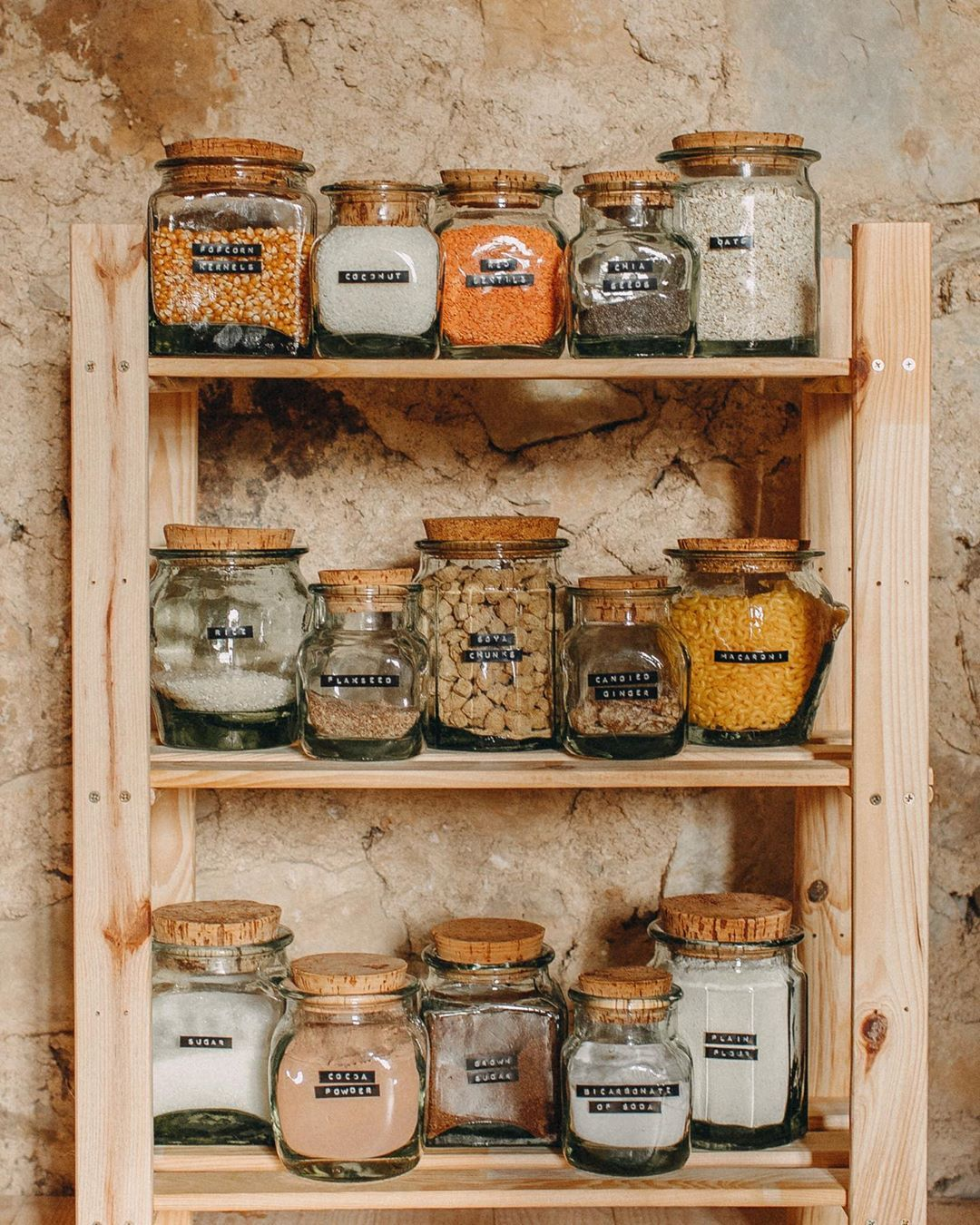 frances moe on instagram our zero waste pantry goals are slowly coming to life all of the on kitchen organization zero waste id=38832
