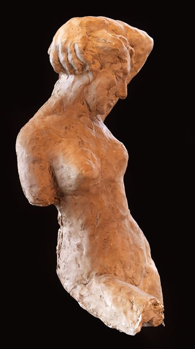 Sculpure by Ron Merkhofer.