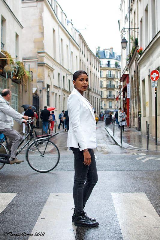 TorontoVerve in Paris: Stéphanie - Rue Pavée