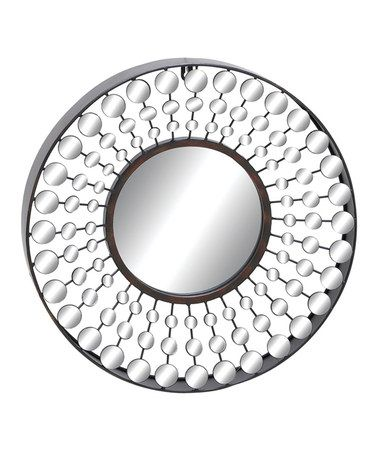 Metal Circle Mirror by UMA Enterprises  #home #decor $32.99 (half off)