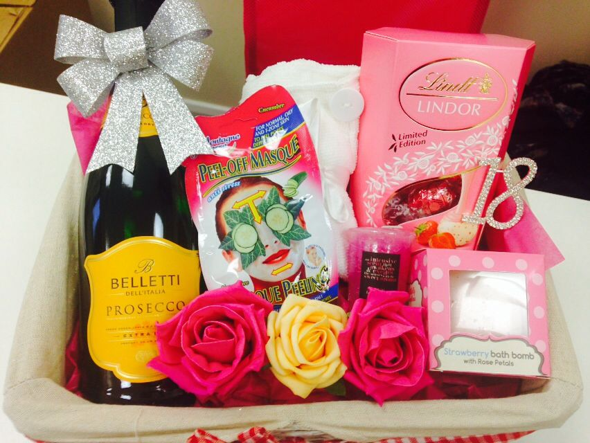 Made To Order 18th Birthday Hamper