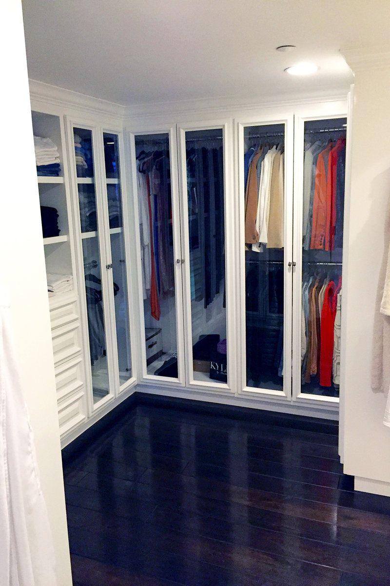 Tour Yolanda M Foster S New Condo New Condo Condo Wardrobe Room