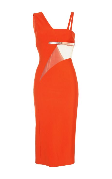 Orange Mega Milano Dress by  for Preorder on Moda Operandi