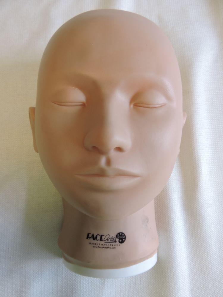 Face artist pro makeup mannequin makeup face artist