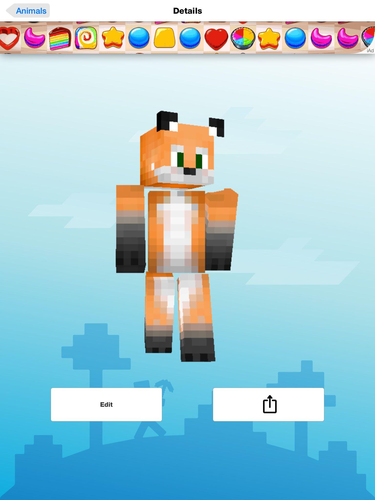 minecraft fox skins minecraft skins pinterest minecraft skins