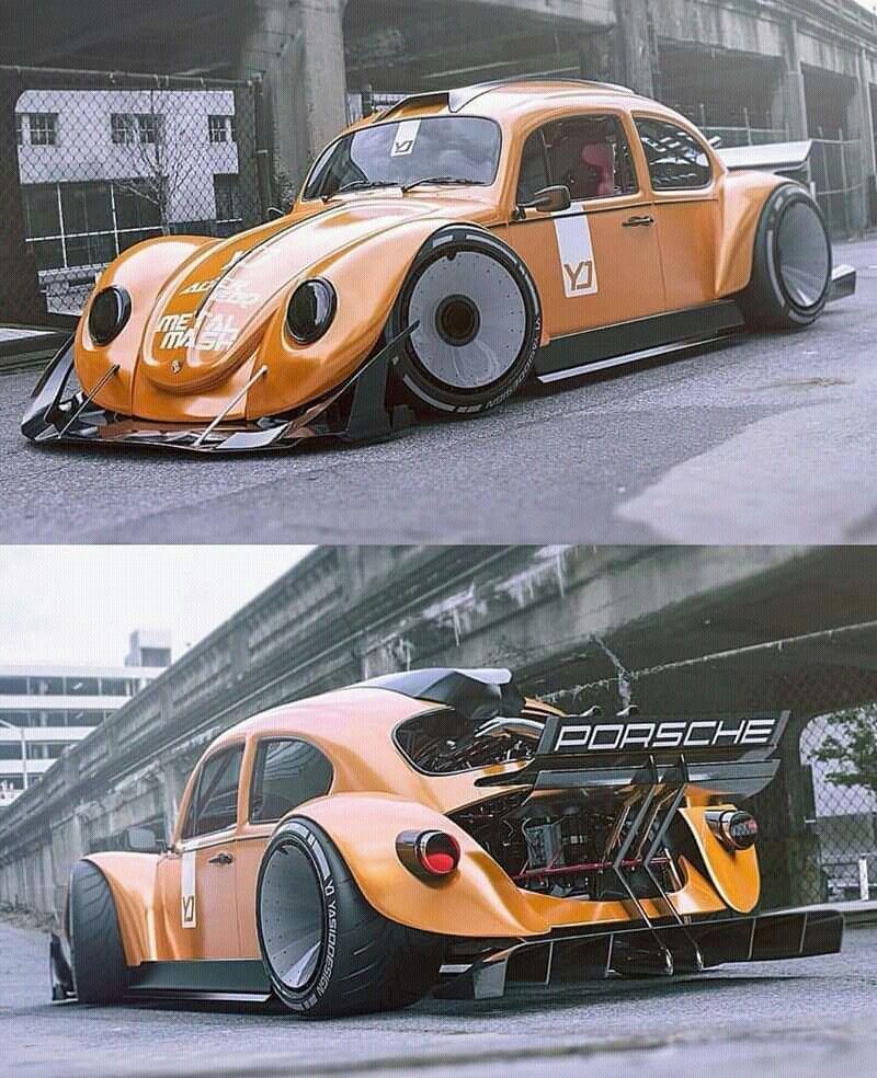 Sleek Design Concept Weird Cars Vw Cars Custom Muscle Cars