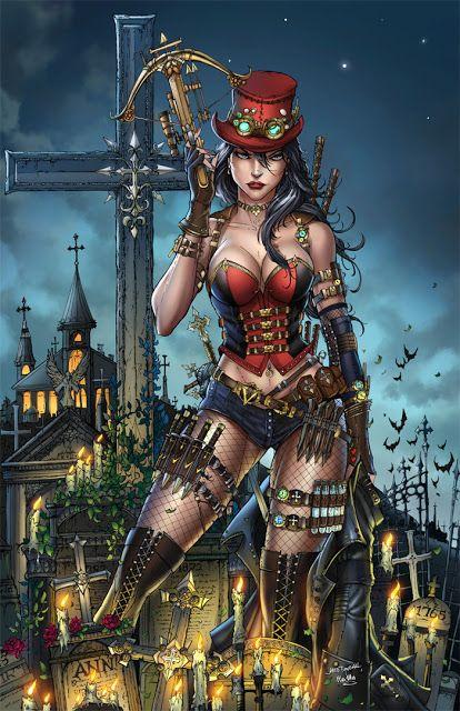 Steampunk Wonder Woman - #steampunk # releasingsteam http://releasingsteam.com/pin/7219/
