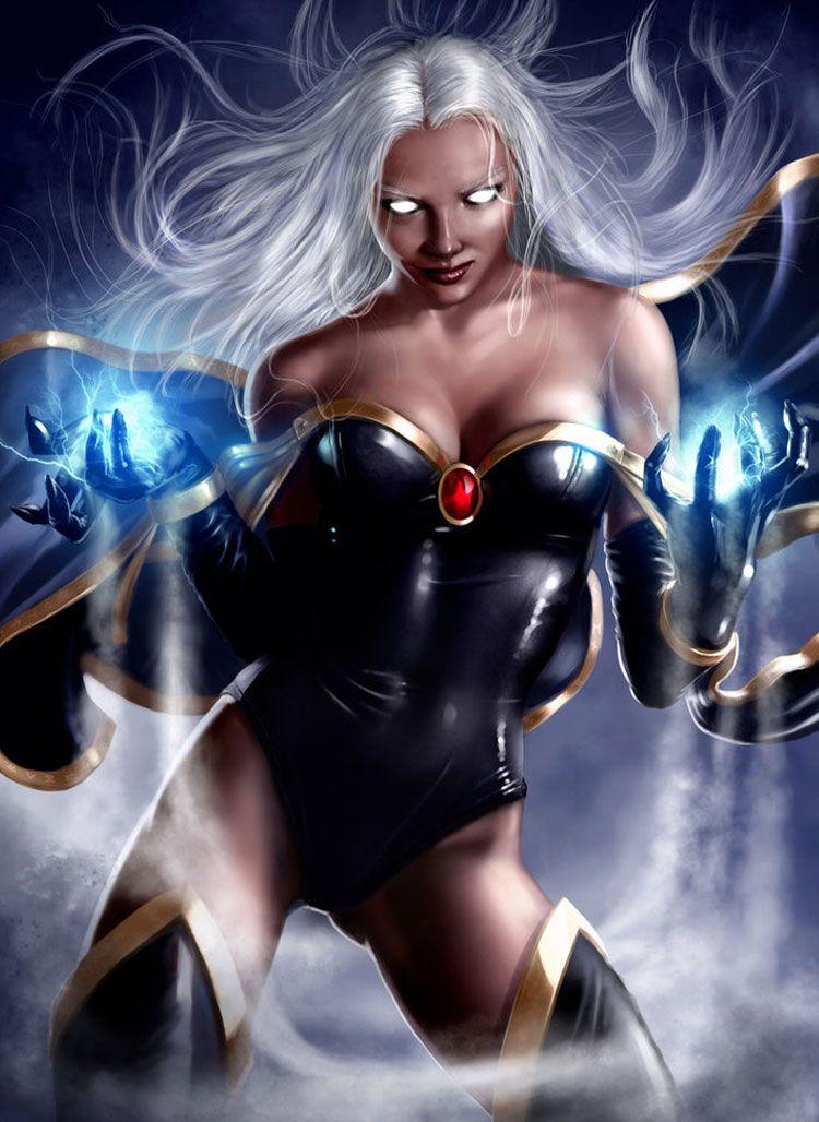 Xmen Storm Tattoo  Fantasy Inspiration By Imaginefx -9409