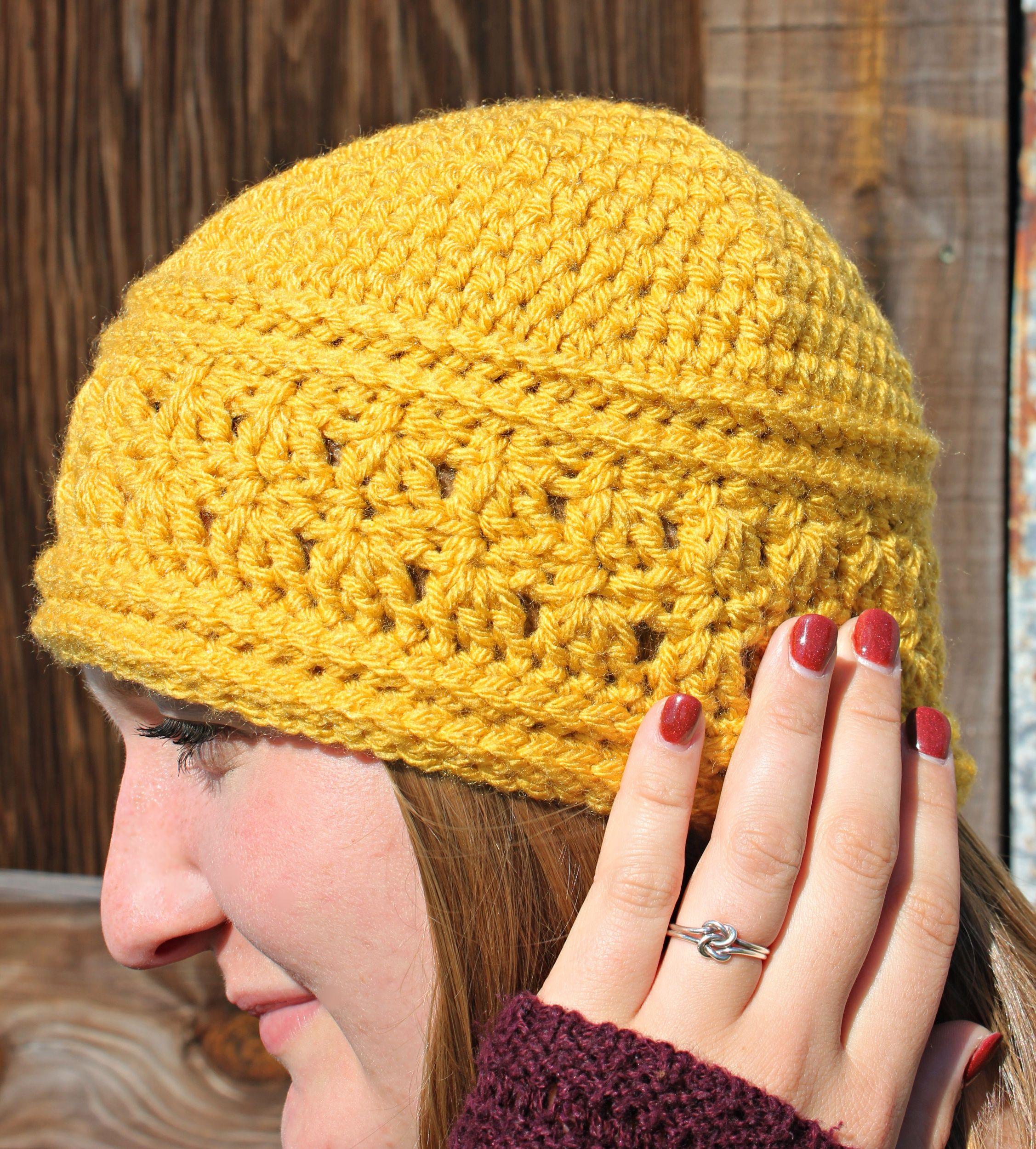 Crochet hat sister gift chemo headwear valentine gift