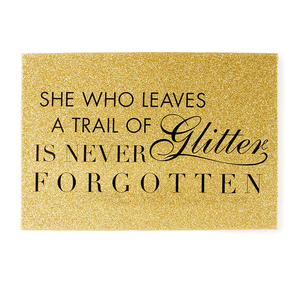 P>For true glamour girls, this is your mantra, and now you can hang ...