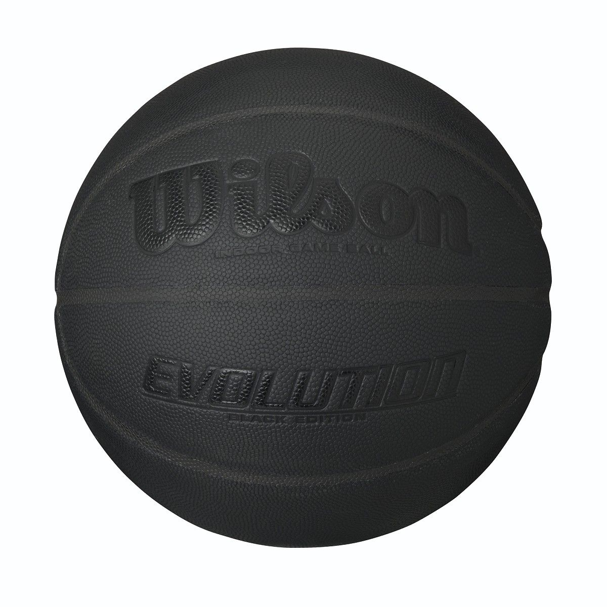Wilson Evolution Black Edition Game Ball Black Wilson Basketball Wilson Basketball Wilson Basketball Basketball Black Edition