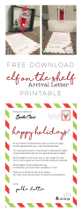 Elf on the Shelf - Arrival Letter Free Download #elfontheshelfarrival Elf on the Shelf - Arrival Letter Free Download #elfontheshelfarrivalletter