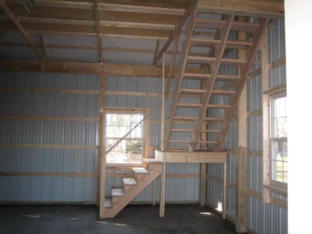 We can build subfloors,steps with handrail. | shed ...