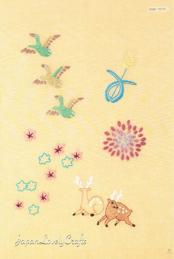 Japanese Traditional Embroidery Patterns Easy Embroidery Tutorial