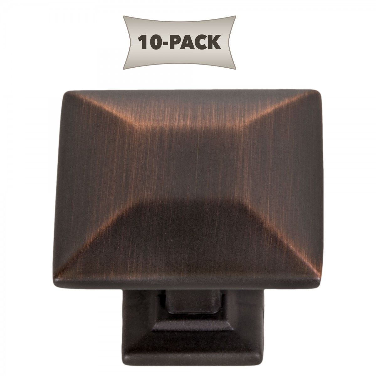 ultra hardware 10 pack modern pyramid square kitchen cabinet