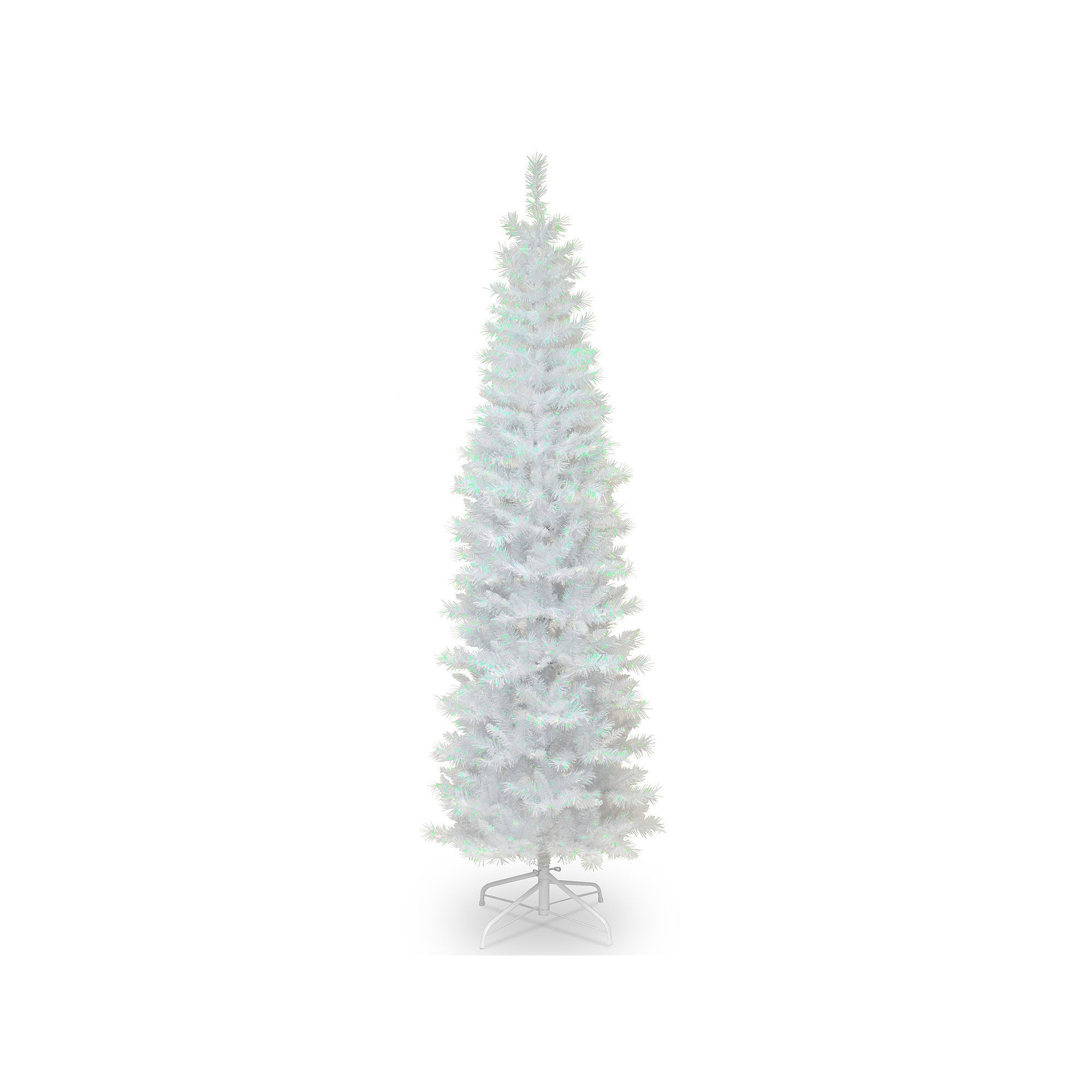 National Tree Company 6 Ft Tinsel Artificial Christmas Tree Floor Decor White