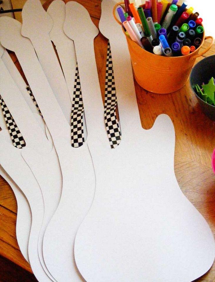 rock star birthday party crafts - Creative Rock Star Birthday Party ...